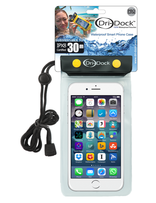 Pochette Smartphone Waterproof Dri-Dock Transparent