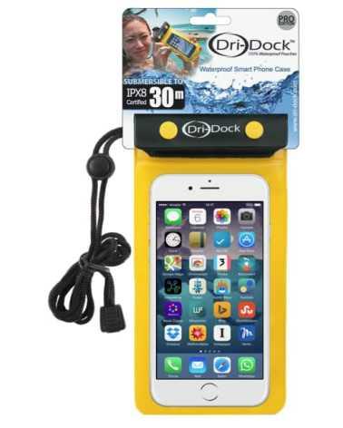 Pochette Smartphone Waterproof Dri-Dock Jaune