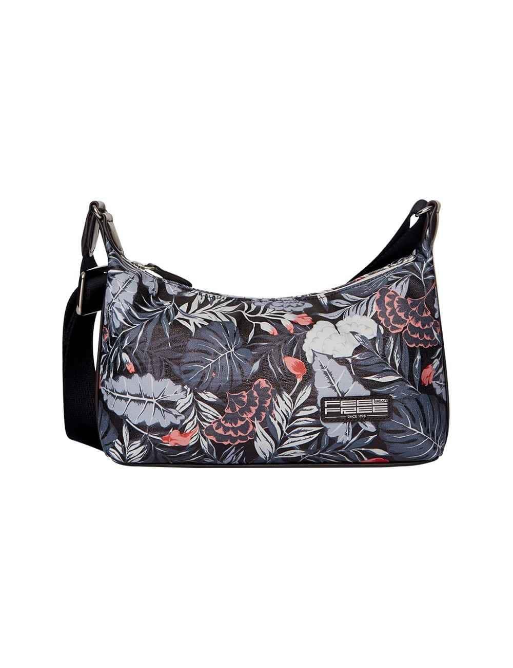 Mini sac à main black tropical