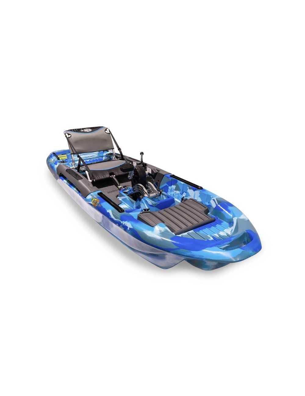 Kayak Big Fish 103 avec pédalier Blue Camo