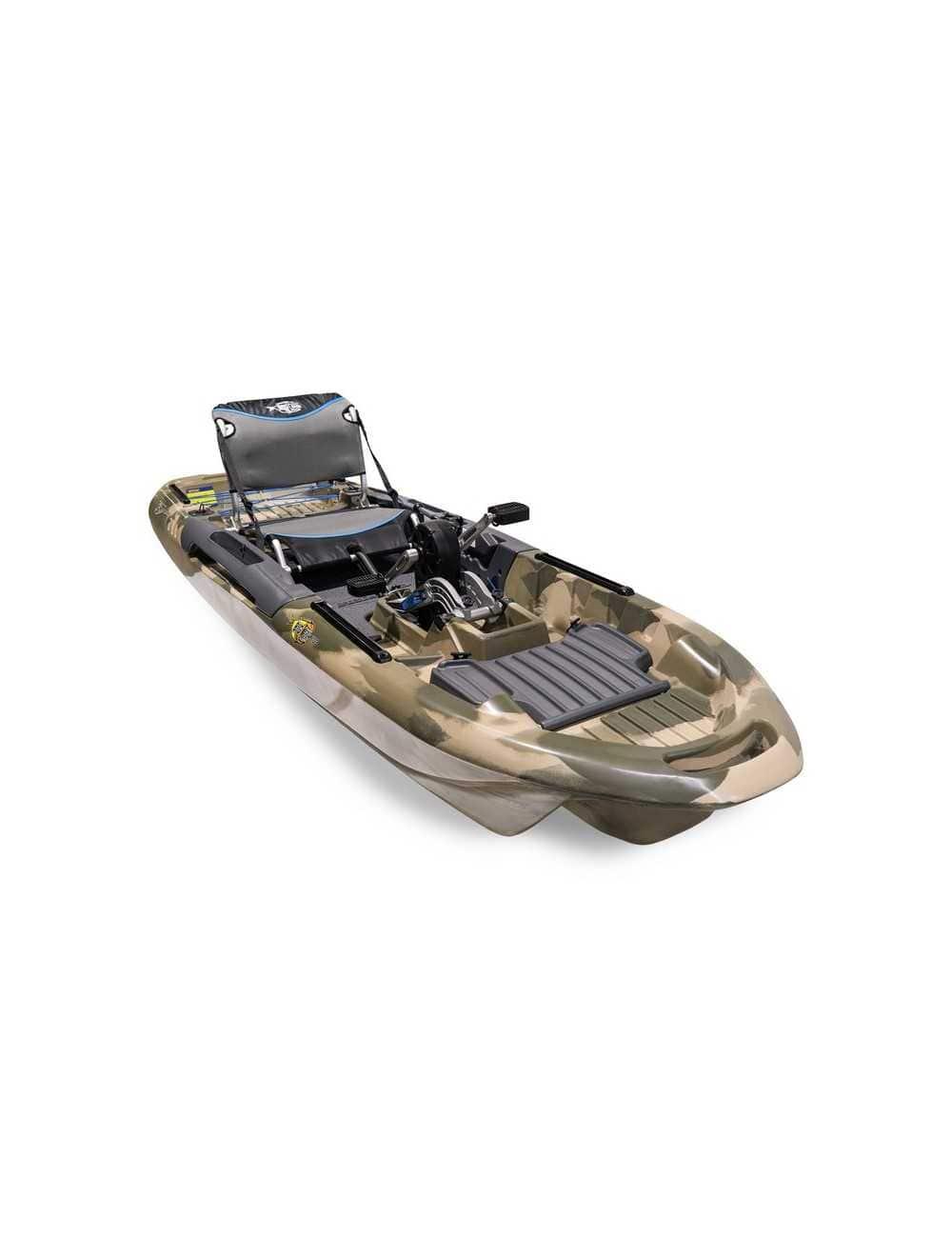 Kayak Big Fish 103 avec pédalier Desert Camo