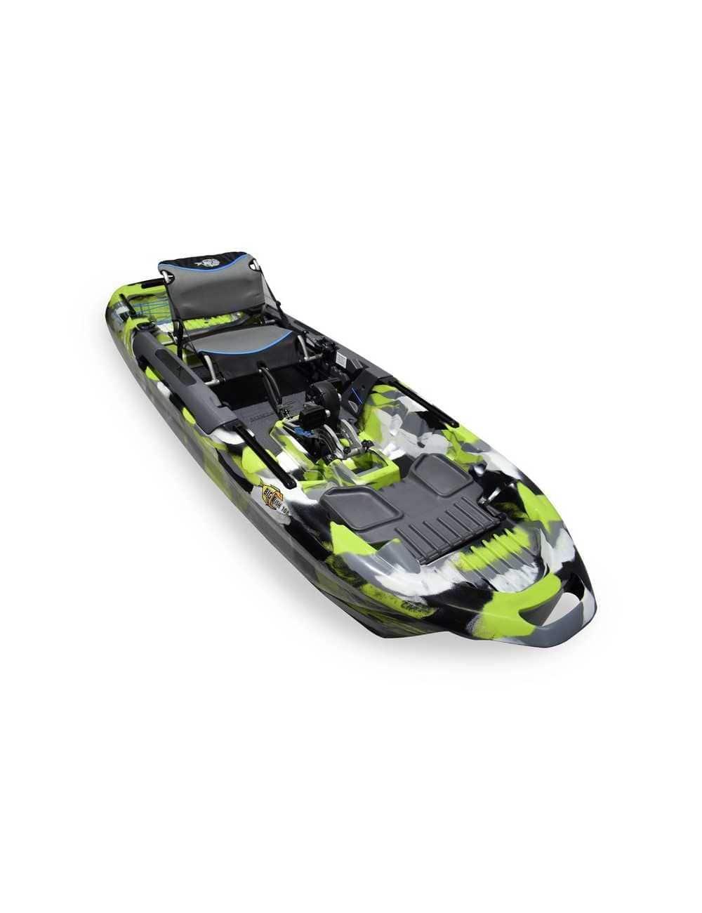 Kayak Big Fish 108 avec pédalier Lime Camo