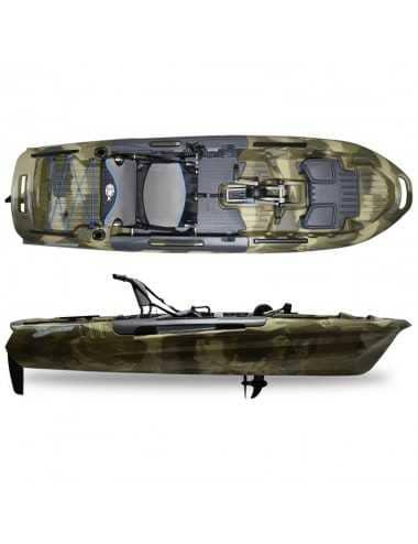 Kayak Big Fish 108 avec pédalier Terra Camo