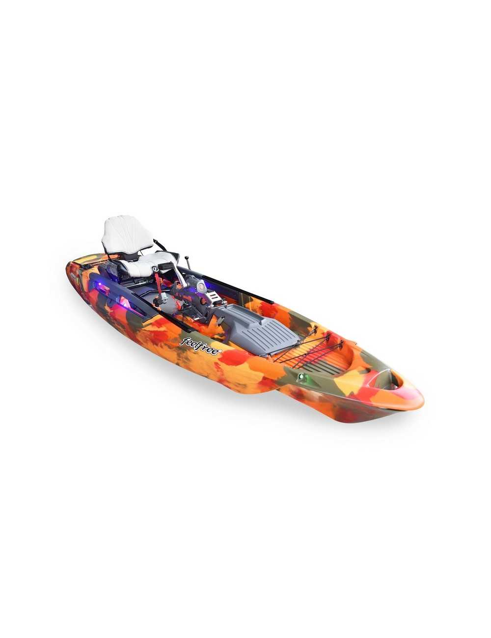 Kayak Dorado 125 Overdrive Powered de Feelfree Fire Camo