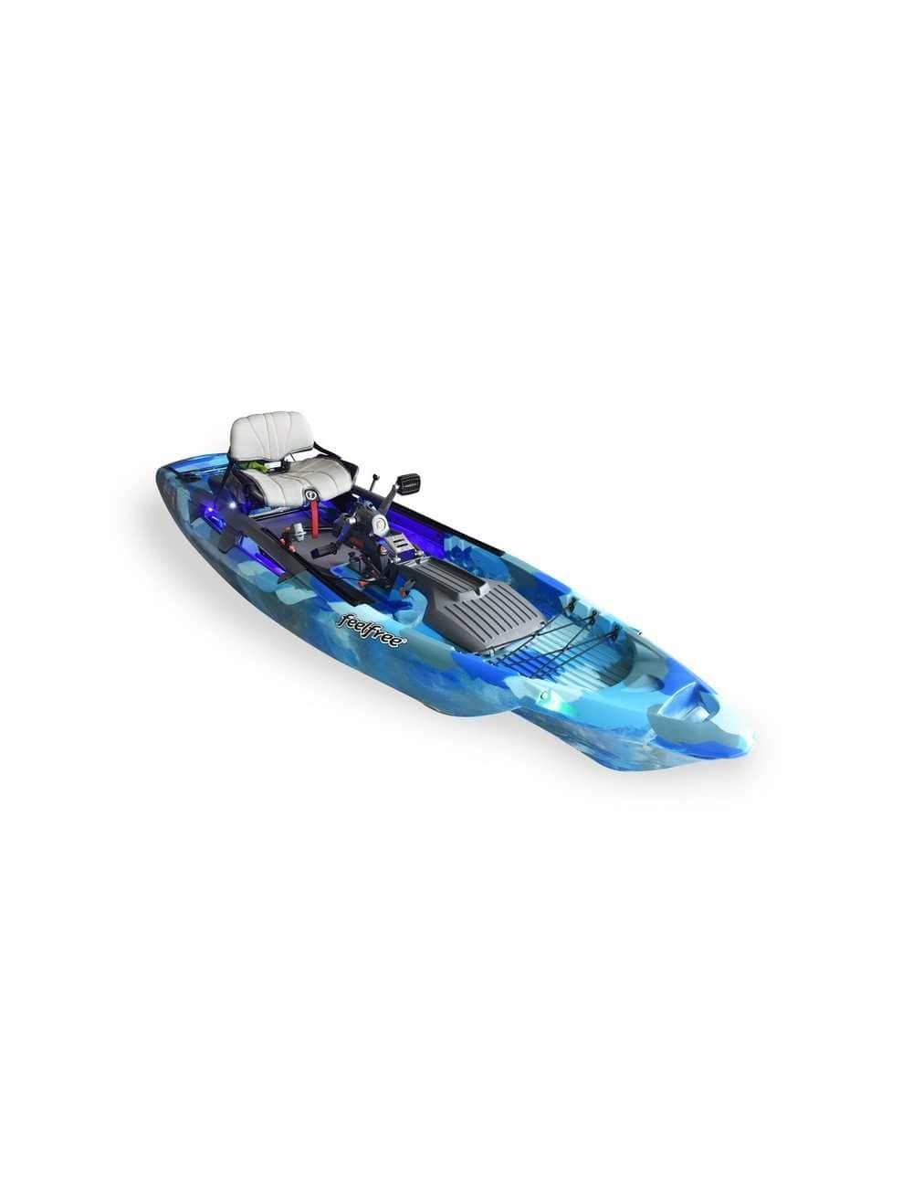 Kayak Dorado 125 Overdrive Powered de Feelfree Ocean Camo