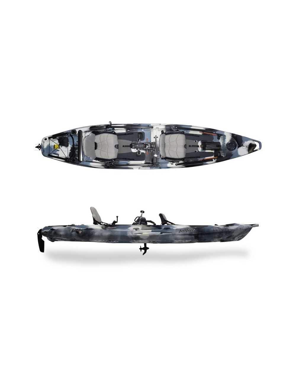 Kayak Lure 2 tandem Overdrive de Feelfree Winter Camo