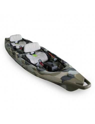 Kayak Lure 2 tandem Overdrive de Feelfree Desert Camo