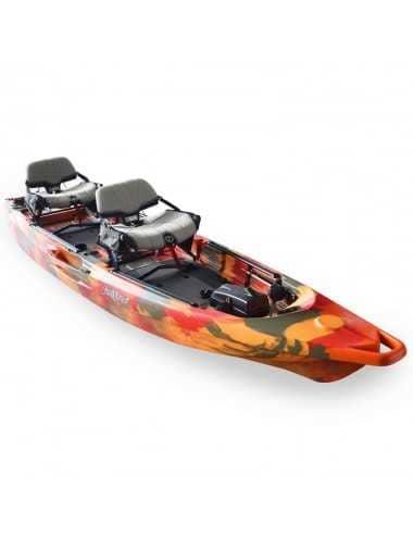 Kayak Lure 2 tandem Overdrive de Feelfree Fire Camo