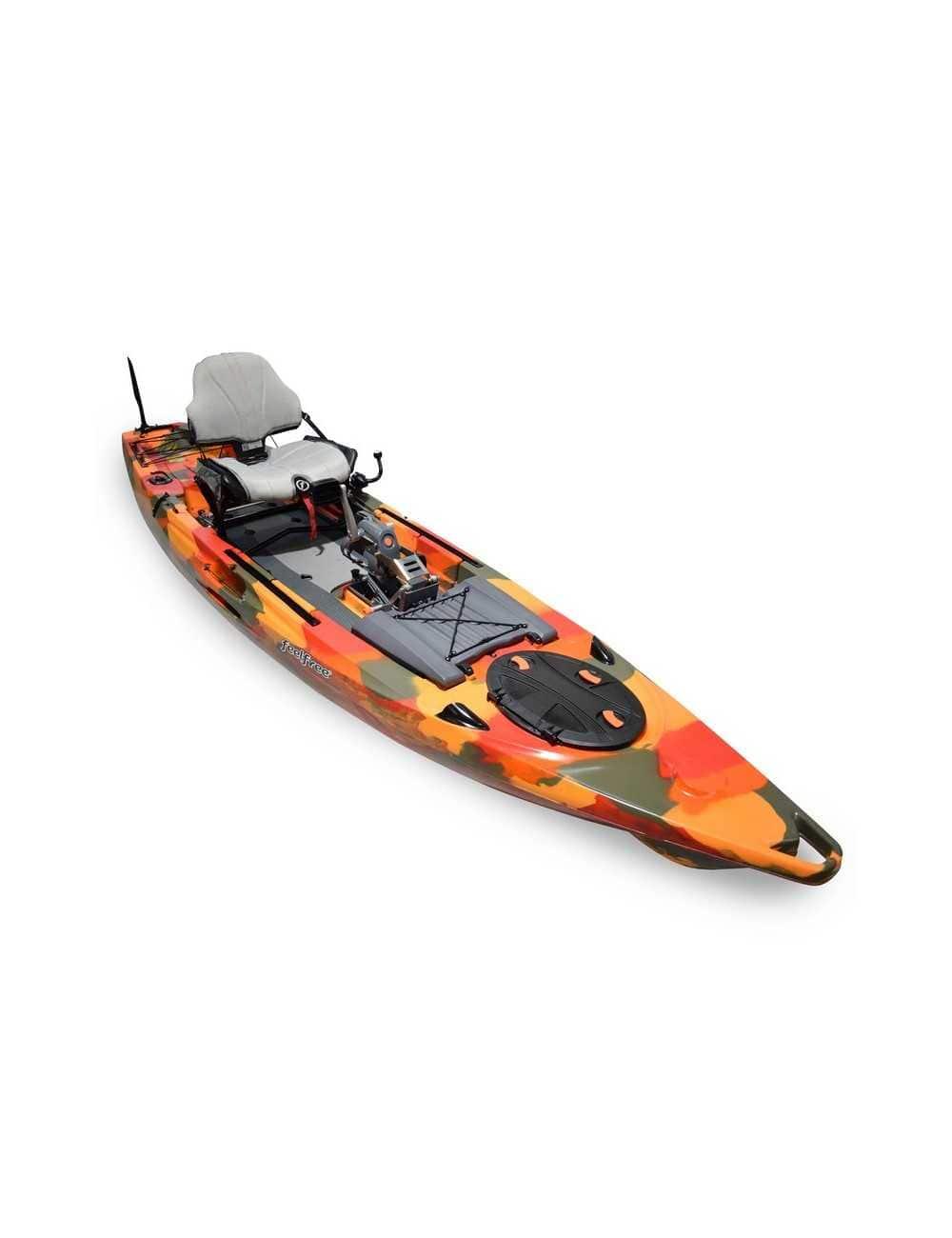 Kayak Lure 13.5 V2 Overdrive de Feelfree Fire Camo