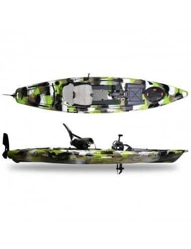 Kayak Lure 13.5 V2 Overdrive de Feelfree Lime Camo