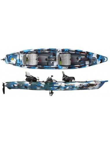 Kayak Lure 2 tandem Overdrive de Feelfree Ocean Camo