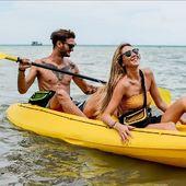 Kayak Life ✌ #kayak #sacetanche #couplegoal #wetbag #sacoche #colors