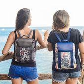 Les mini back packs tropicaux débarquent chez Feelfree ✌ Des sacs à dos pratiques, tendances et imperméables ! 🌺 #wetbag #sac #lifestyle #trends #tropicaux #backpack