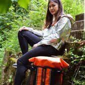 ROADSTER - sac étanche branché moto 🏍 #wetbag #sacmoto #sacetanche #roadster #orange #lifestyle