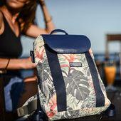 Veuillez accueillir comme il se doit le nouveau sac à dos de la collection tropical by Feelfree 🌼  #sacetanche #backpack #tropical #lifestyle #summer