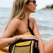 💛🐥🌼☀️ #sacoche #sacetanche #jazz #yellow #kayak #paddlelife