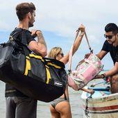 C'est parti pour un tour en bateau direction le soleil ☀️☀️ #wetbag #sacetanche #sacvoyage #maroquinerie